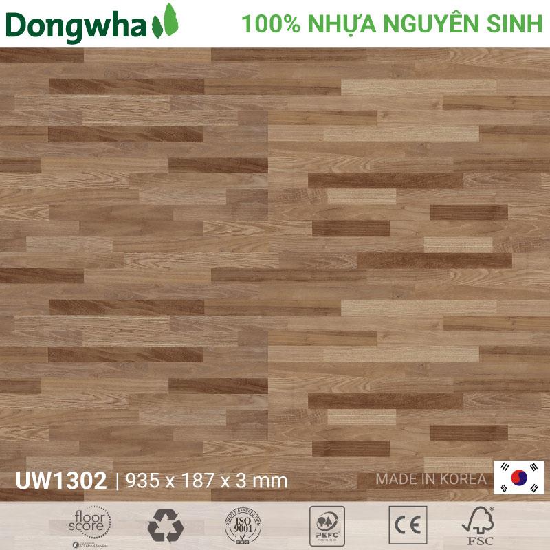 Sàn nhựa Dongwha UW1302 Unique Wood – 3mm