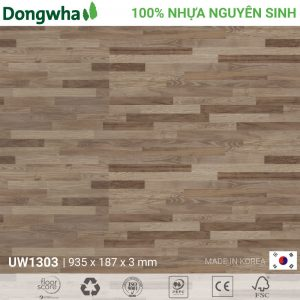 Sàn nhựa Dongwha UW1303 Unique Wood - 3mm