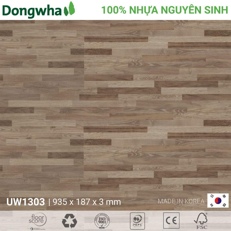 Sàn nhựa Dongwha UW1303 Unique Wood – 3mm