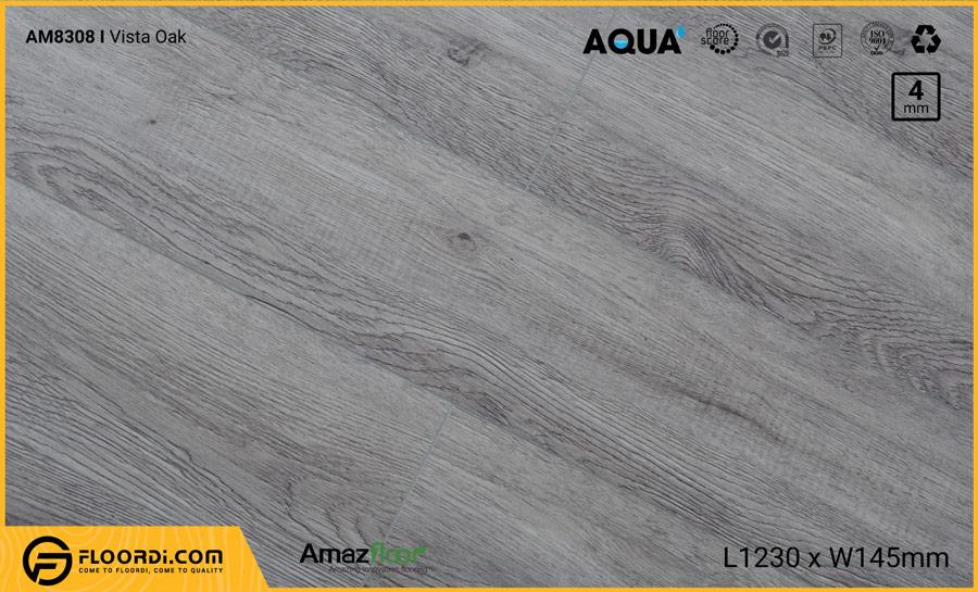 Sàn nhựa Amazfloor AM8308 Vista Oak – 4mm