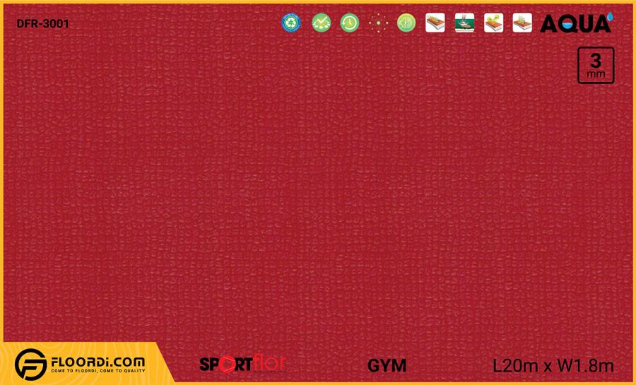 Sàn phòng gym PVC – DFR-3001