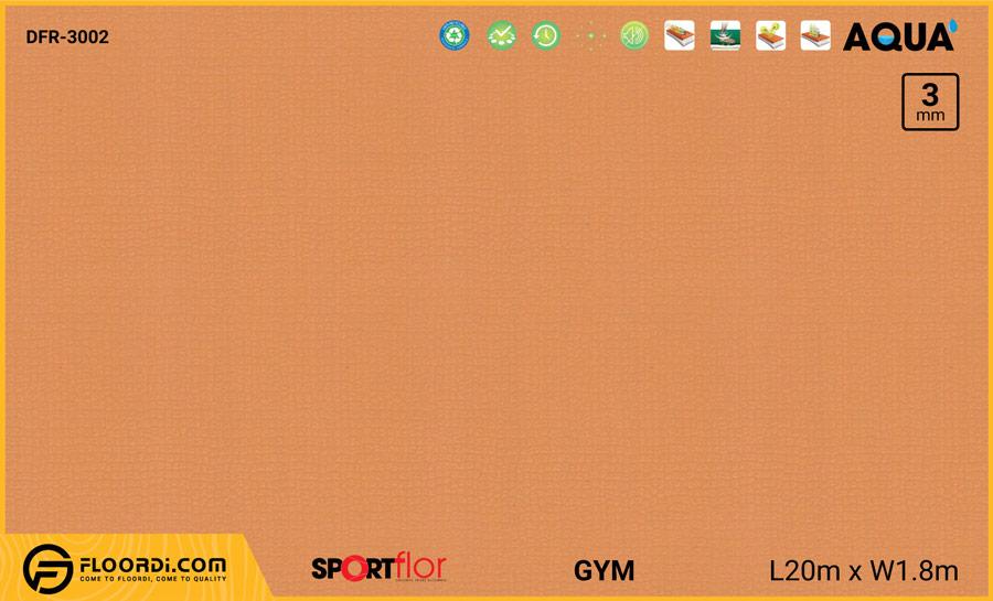 Sàn phòng gym PVC – DFR-3002
