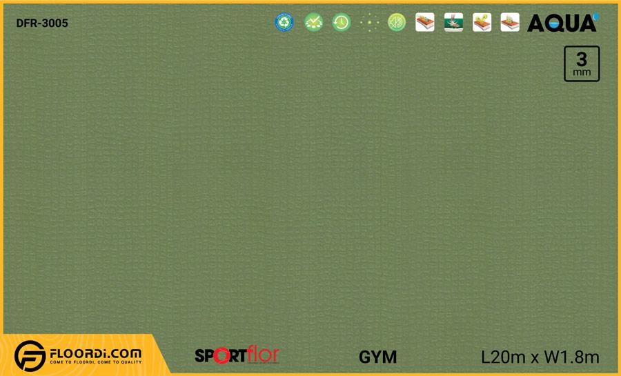 Sàn phòng gym PVC – DFR-3005