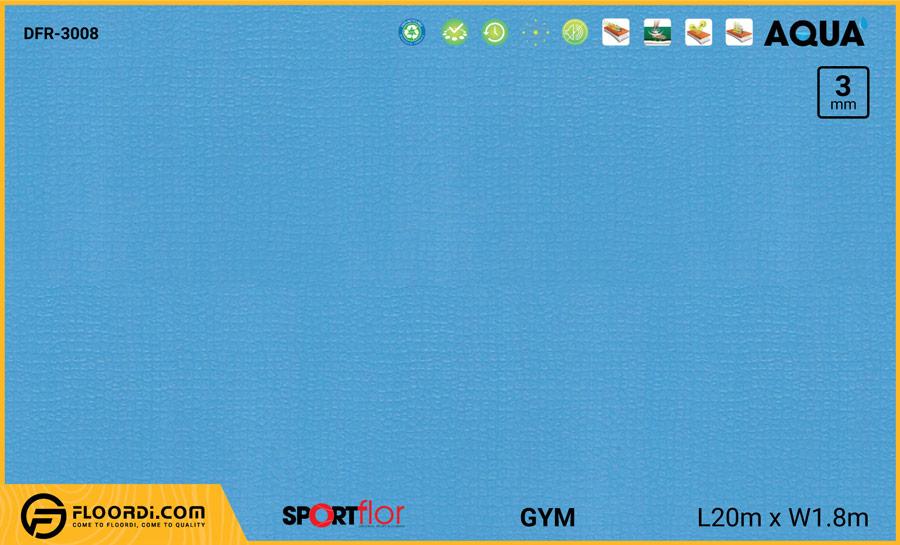 Sàn phòng gym PVC – DFR-3008