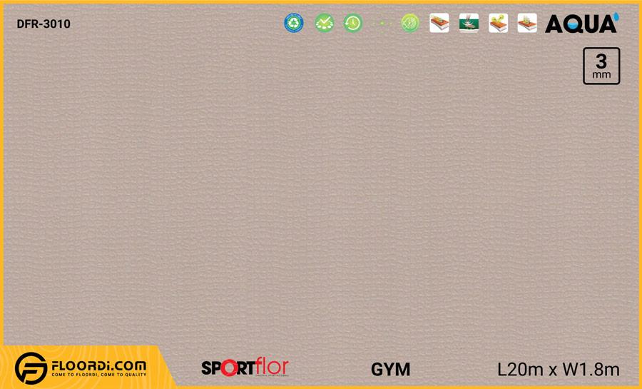 Sàn phòng gym PVC – DFR-3010