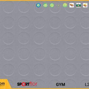 Sàn phòng gym PVC - DFR-3011