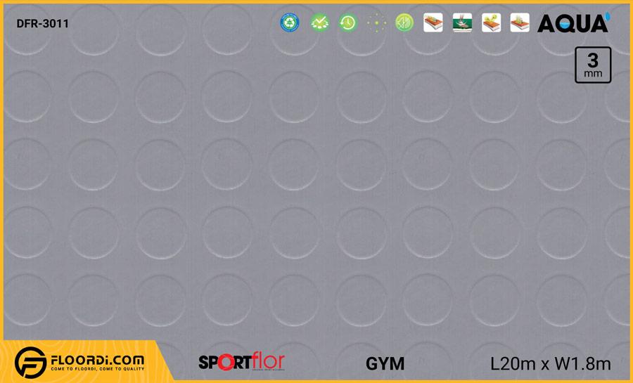 Sàn phòng gym PVC – DFR-3011