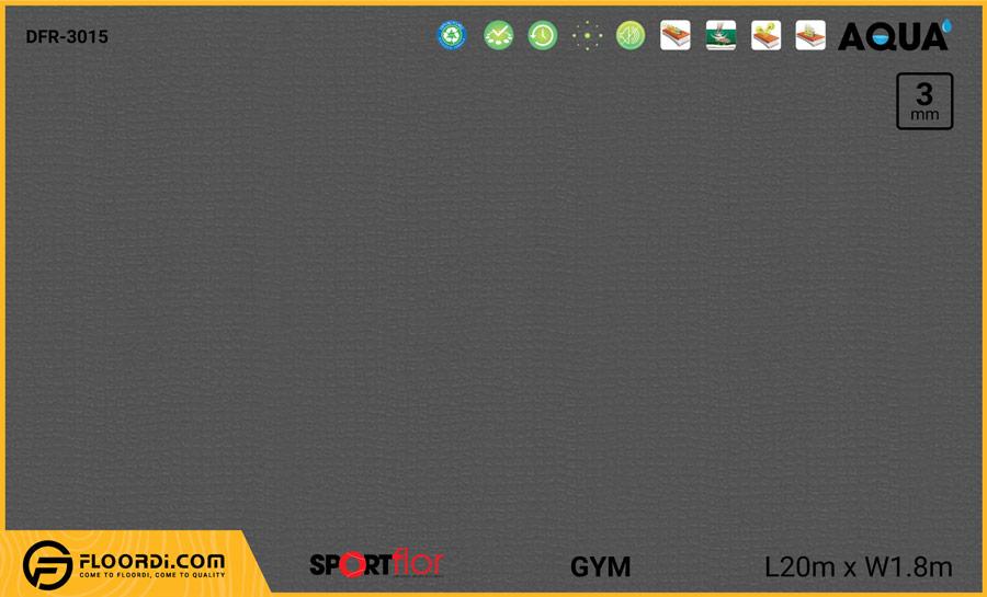 Sàn phòng gym PVC – DFR-3015