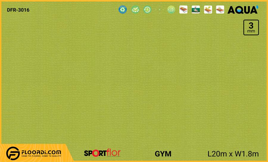 Sàn phòng gym PVC – DFR-3016