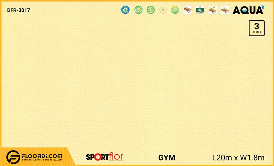 Sàn phòng gym PVC – DFR-3017