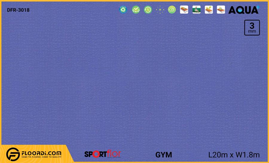 Sàn phòng gym PVC – DFR-3018