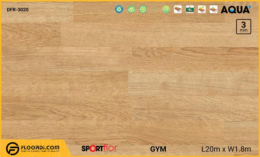 Sàn phòng gym PVC – DFR-3020