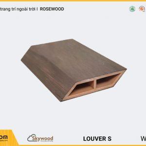 Lam gỗ trang trí ngoài trời vát cạnh Louver LOD9020SR