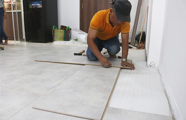 Quy trình thi công sàn gỗ