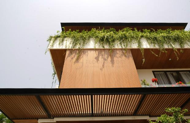 Tấm nhựa giả gỗ ốp tường ngoài trời mang lại độ bền cao