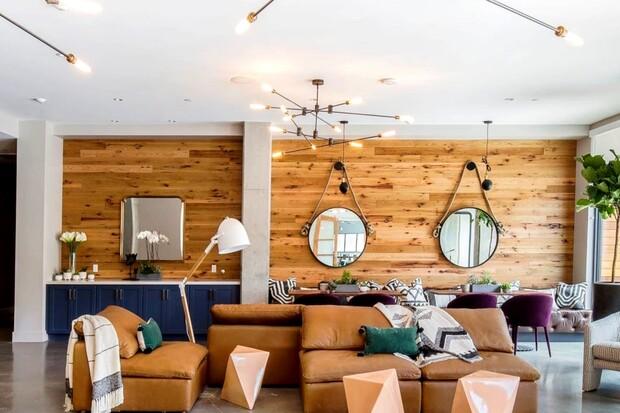 Ván gỗ ốp tường đang được ứng dụng rộng rãi