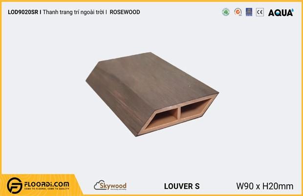 Lam nhựa giả gỗ ngoài trời loại vát dẹt