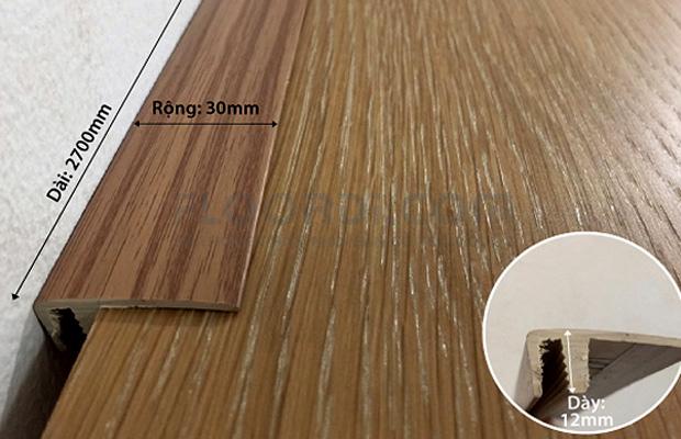 Nẹp F sàn gỗ