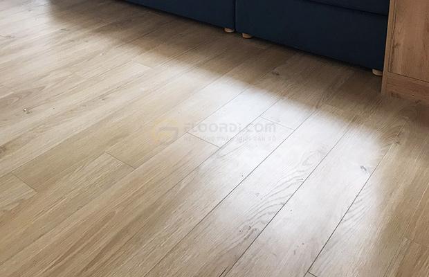 Sàn gỗ Nga độ dày 8mm phù hợp cho công trình dân dụng