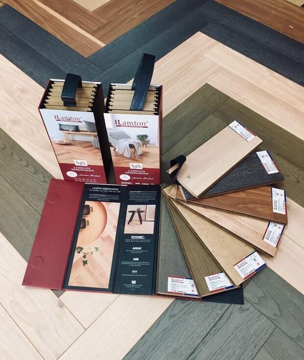 Sàn gỗ Lamton đa dạng về mẫu mã