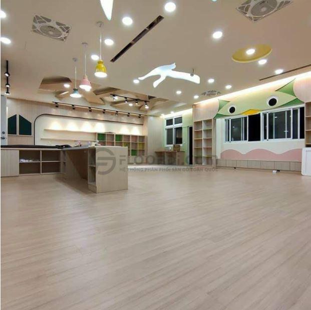 Sàn gỗ Hillman sở hữu chất lượng và màu sắc hiện đai
