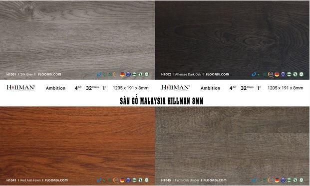 Ván sàn công nghiệp Malaysia sở hữu chất lượng bền bỉ