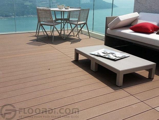 Sàn ngoài trời Skywood được sử dụng rộng rãi trong các công trình từ đơn giản đến phức tạp