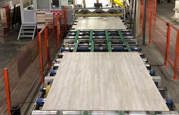 Dây chuyền sản xuất sàn gỗ óc chó