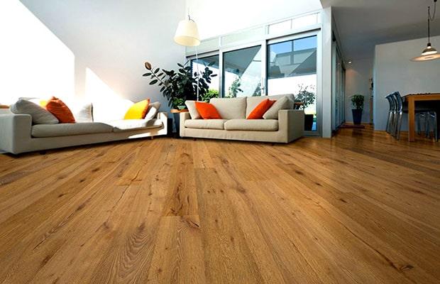 Sàn gỗ tự nhiên luôn là một lựa chọn đẳng cấp và sang trọng