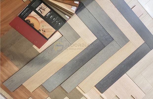 Kích thước sàn gỗ xương cá
