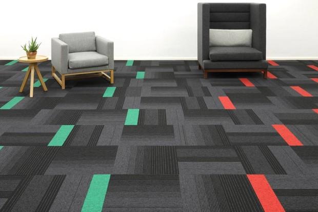 Sàn PVC vân thảm hiện đại và độc đáo