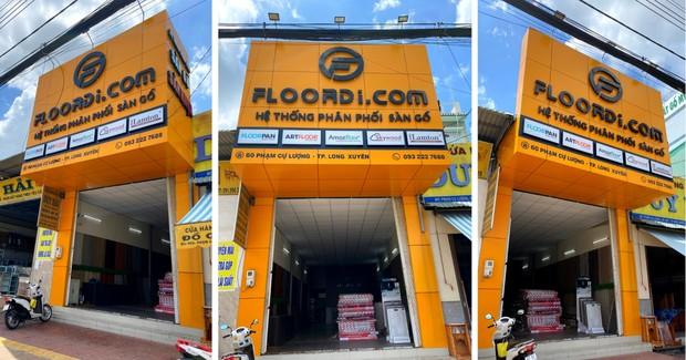 Hệ thống phân phối sàn nhựa dán keo Floordi