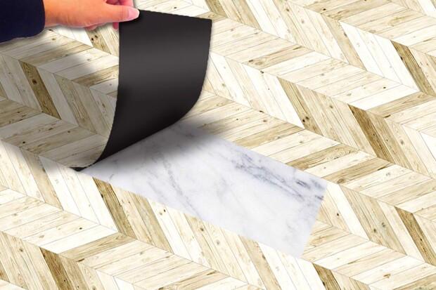 Sàn nhựa dán keo dễ dàng lắp đặt