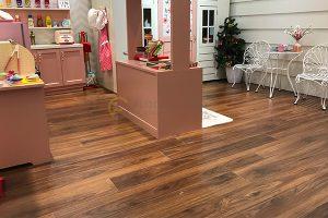 Dự án lắp đặt sàn gỗ Smart Spa