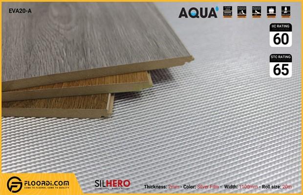 Độ dày mút xốp lót sàn gỗ 2mm