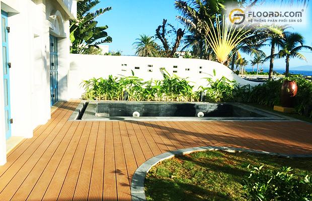 Lam gỗ được ưu tiên sử dụng cho các thiết kế ngoài trời