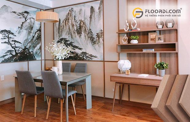 HDF là vật liệu gỗ công nghiệp sản xuất ra ván sàn