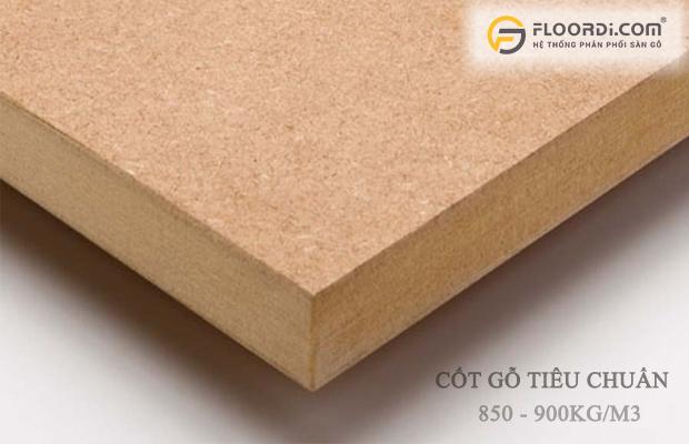 Tỷ trọng nén cốt gỗ tiêu chuẩn
