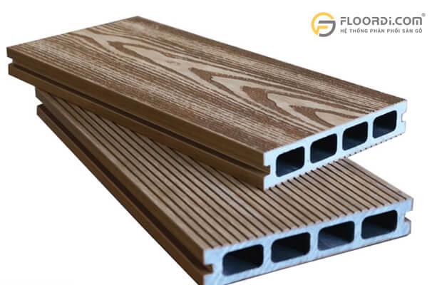 Kích thước chiều dài gỗ nhựa ngoài trời
