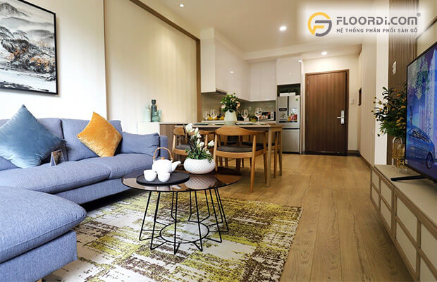 Chọn kích thước sàn cho nhà có diện tích lớn