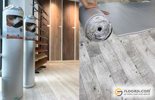 Chọn xốp lót sàn gỗ chuyên dụng