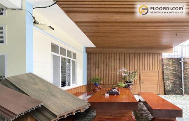 Tấm gỗ ốp trần có độ bền cao