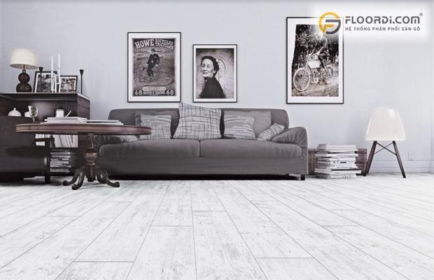 Sàn gỗ công nghiệp có tính thẩm mỹ cao