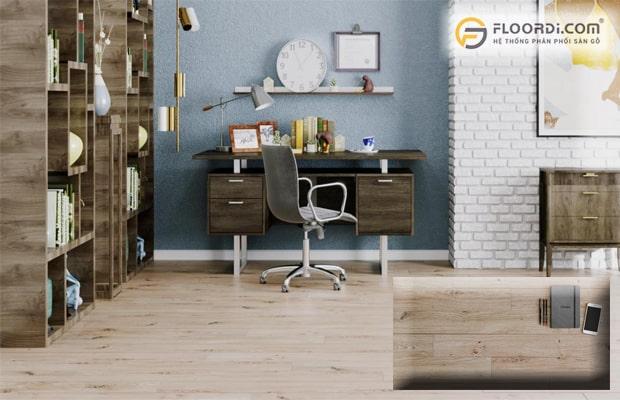 Sàn gỗ là xu hướng hiện đại còn sàn gạch là vật liệu truyền thống