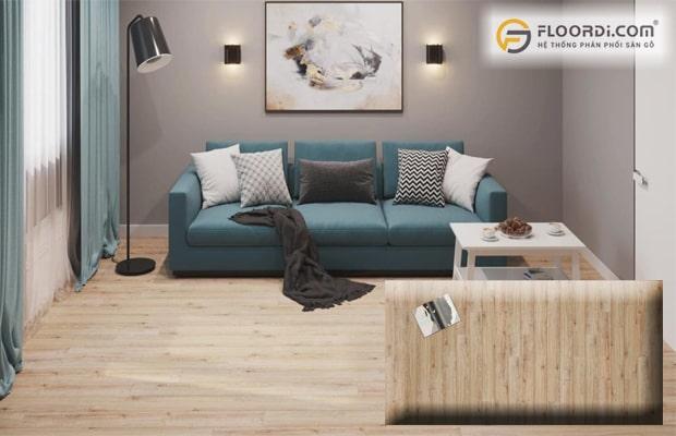 So sánh giữa sàn gỗ và sàn gạch