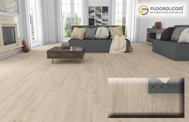 Giá thành sàn gỗ cao hơn sàn gạch