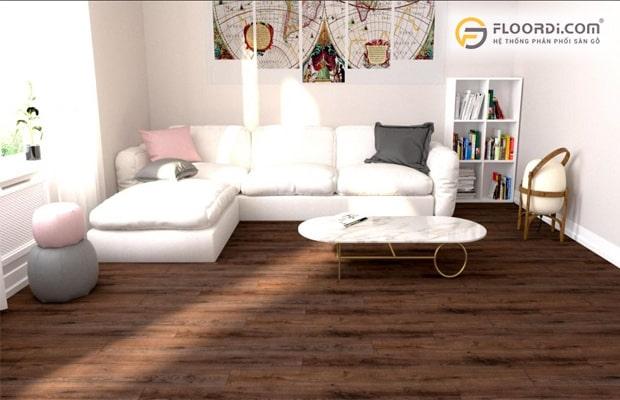 Sàn gỗ công nghiệp được cải tiến phù hợp với mọi điều kiện sử dụng