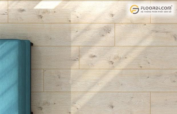 Thiết kế bề mặt sàn gỗ cho sự chân thực và tinh tế hơn sàn gạch men