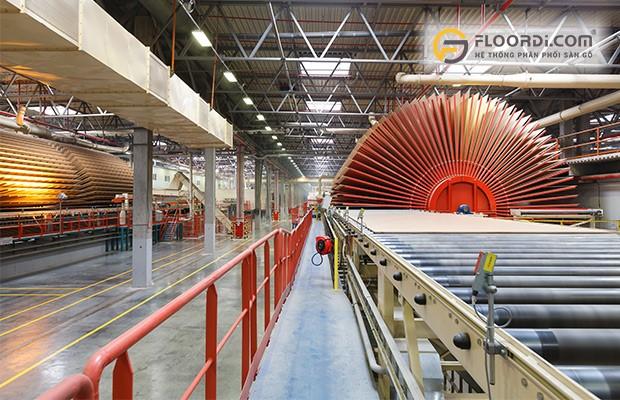 Nhà máy sản xuất sàn gỗ Malaysia Hillman