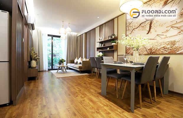 Sàn gỗ trong phong cách Địa Trung Hải